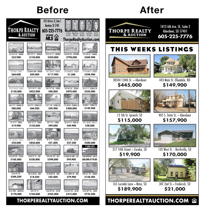 Thorpe Realty Before & After
